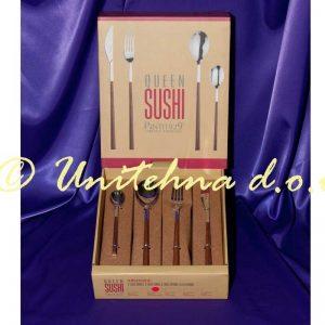 Set Sushi Queen (Mahagoni) 24/1