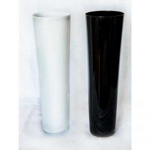 Vaza 50cm (crna/bijela)