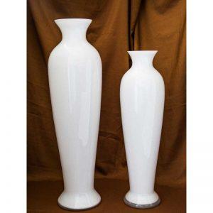 Vaza opal bijela